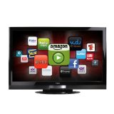 Black Friday VIZIO XVT323SV 32-Inch Full HD 1080p LED LCD HDTV with VIA Internet Application, Black